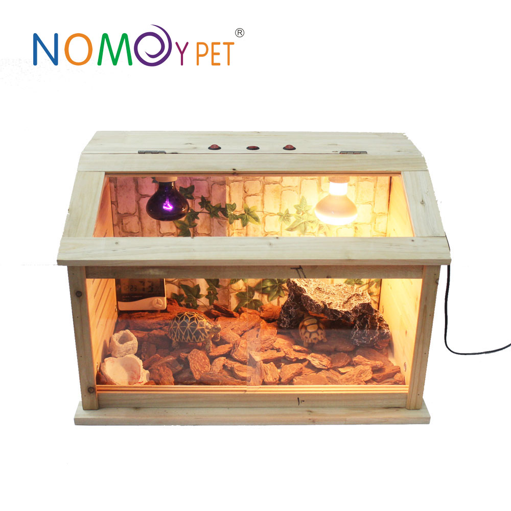 Nomoy Pet Hot Selling Fir Wooden Pet Furniture Chicken House/ reptile cage/ reptile