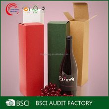 Hight quality competitve price cheap paper wine box