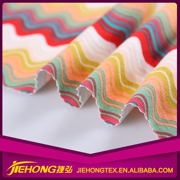 China Manufacturer Shrink Resistance Custom 100% printed rayon fabric