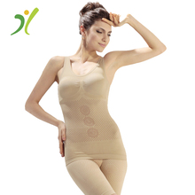 Women Bio Ceramic Fat Burning Slimming Bodysuit with CE Certificate