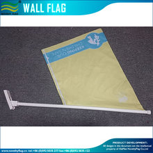 40X60CM PVC advertising wall flag with mounting kits