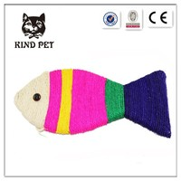 2015 on sale pet products fish shape cat loved toy