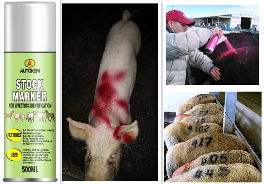 livestock marker spray for animal,animal marking paint spray