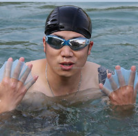 Silicone Swimming Gloves