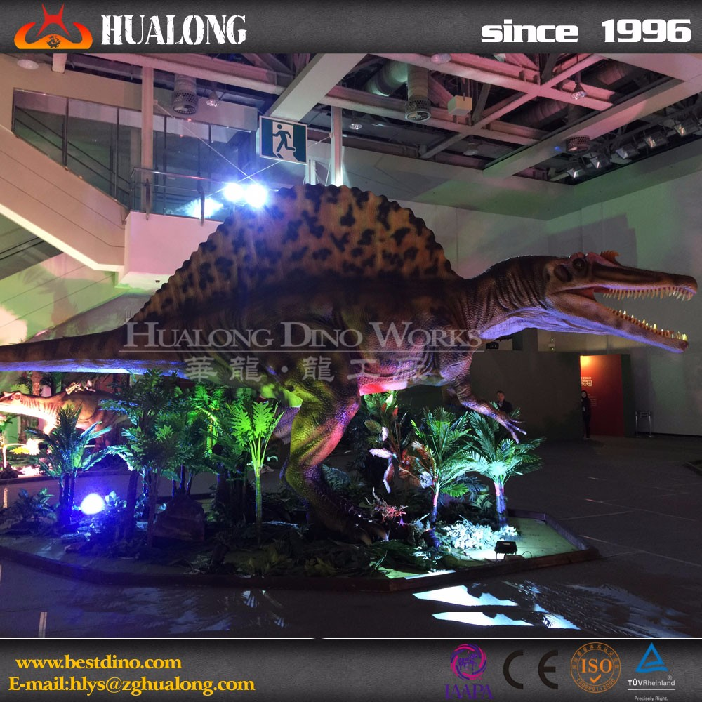 High Simulation Vivid Spinosaurus Dinosaur Equipment for Sale