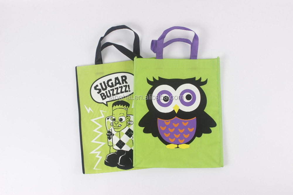 shanghai langhai high quality foldable non-woven shopping bag