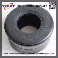 Go-kart ATV tire and wheel assembly of 11x6.00-5 type