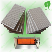 Infrared ceramic plate/gas fireplace Infrared ceramic plate