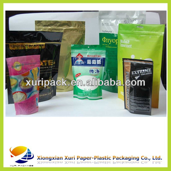 stand up bag/pouch for food/snack/tea/ cookies /biscuits packaging customized supplier