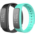 0.91 OLED touch screen Bluetooth 4.0 heart rate smart bracelet IP67 waterproof Whatsapp sport watch I6 fitness band