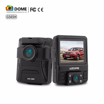 Built-in GPS with double camera Full HD 1080P 2.4 inch Car Dvr with Front and Rear Dual Lens Dash Camera