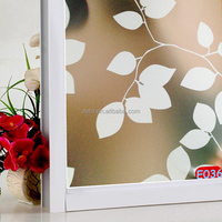 Dero privacy glass film self adhesive window film