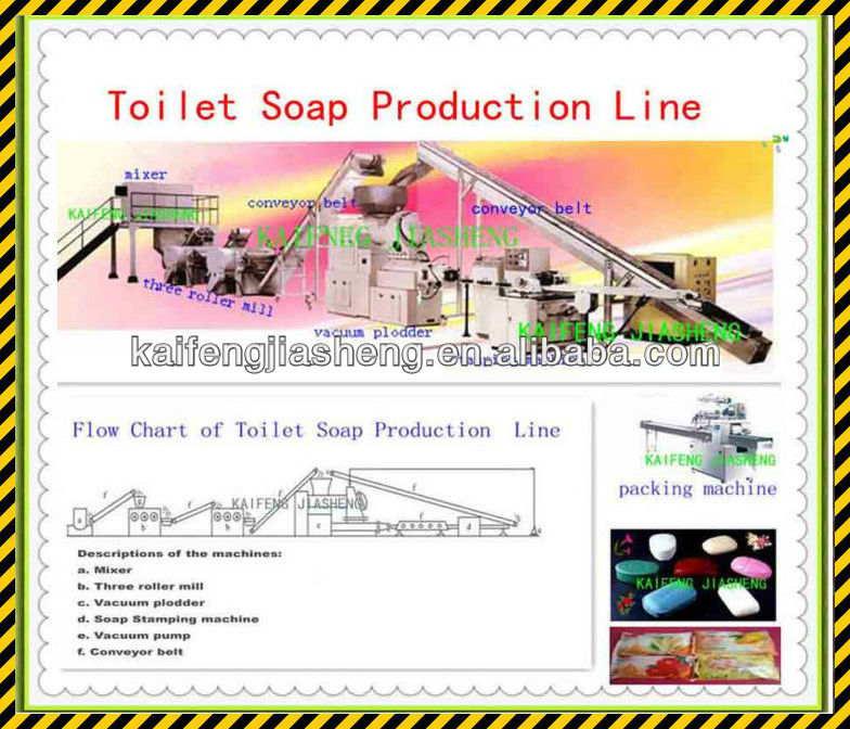 Toilet Soap Making Machinery /1000kg/h Soap Production Line / Toilet Soap Finishing Line / Soap Manufacturing Plant,500KG/H