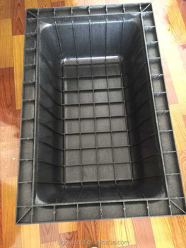 customize mould for ABS waffle slab form for construction building material in china