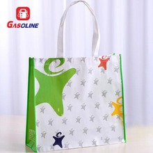 Printable Laminate White Non Woven Trend Canvas Tote Shopping Bags