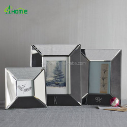 Sweet Handmade Glass Mirrored Photo Frames