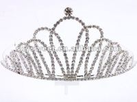 Hot new Bridal jewellery,The Most popular wedding tiara,Fashion pageant wedding crown,Bridal tiara( SWC083)