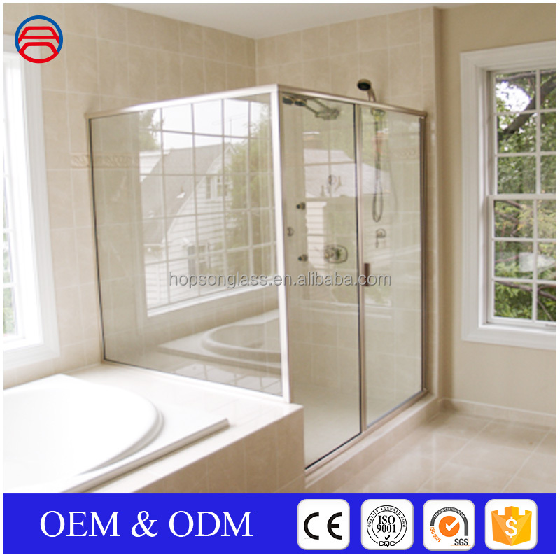 5mm+0.38+5mm laminated large glass panels Tempered laminated glass for sunroom Large size laminated glass 6mm