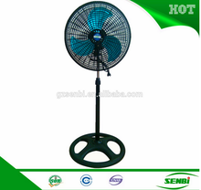 ac 18 inch high voltage appliance metal blade modern electric pedestal stand fan