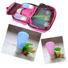 China Supplier New Product Wholesale Promotional Gifts for Teenagers/Silicone Travel Bottles
