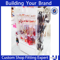 Retail shop customized fashion Hottest retail store floor accessories display stand
