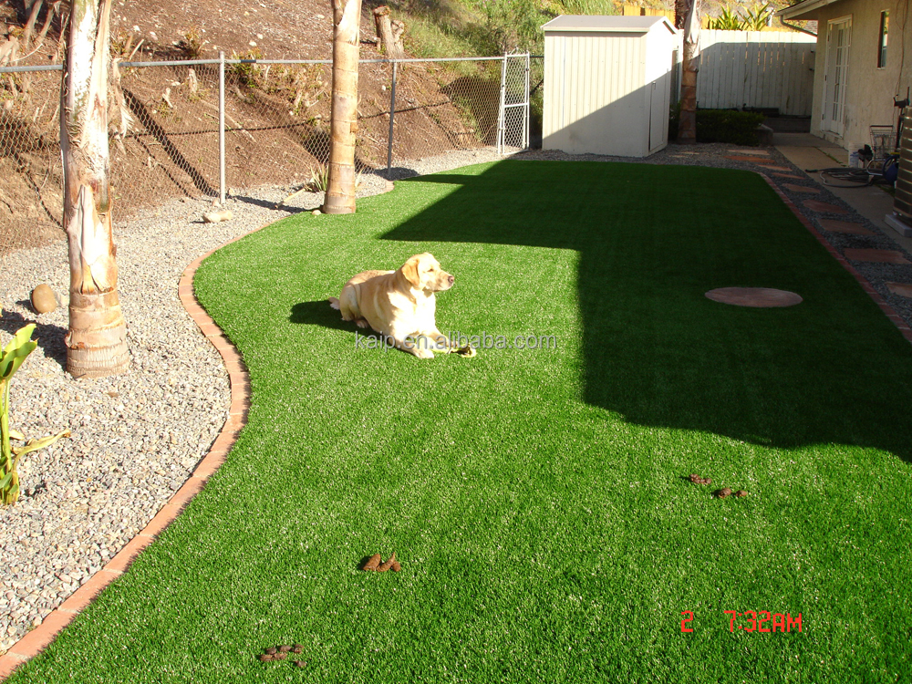 Pet dog run synthetic turf fake grass artificial grass used for special events