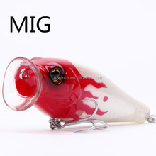 bass fishing salt water floating 100mm bait blank lure body japan quality popper fishing lures