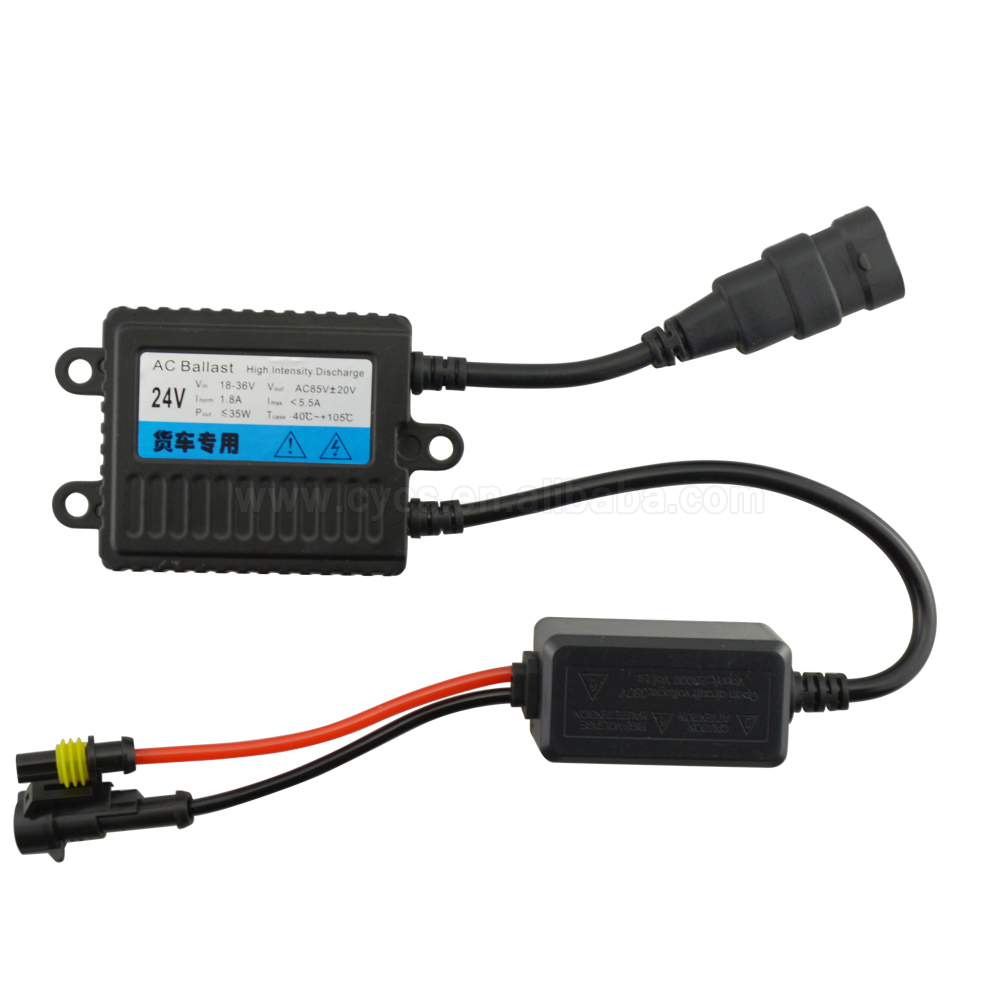 Factory supply ! CE OEM AC 24V 35W auto xenon ballast <strong>hid</strong> for truck xenon bulb <strong>light</strong>