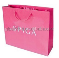 Famous Brand Custom Paper Shopping Bag/gift bag