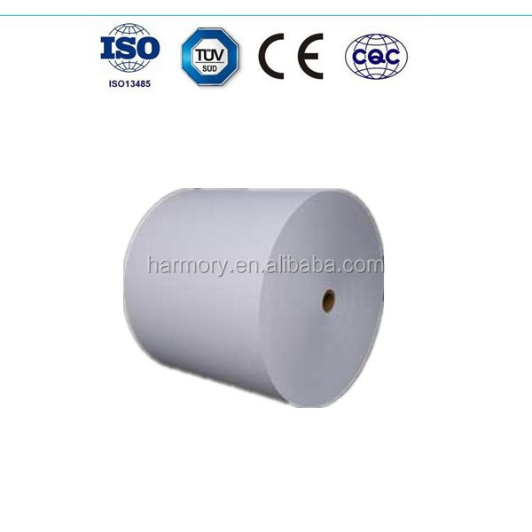 paper roll for medical device sterilization packaging use/60g paper+6g glue