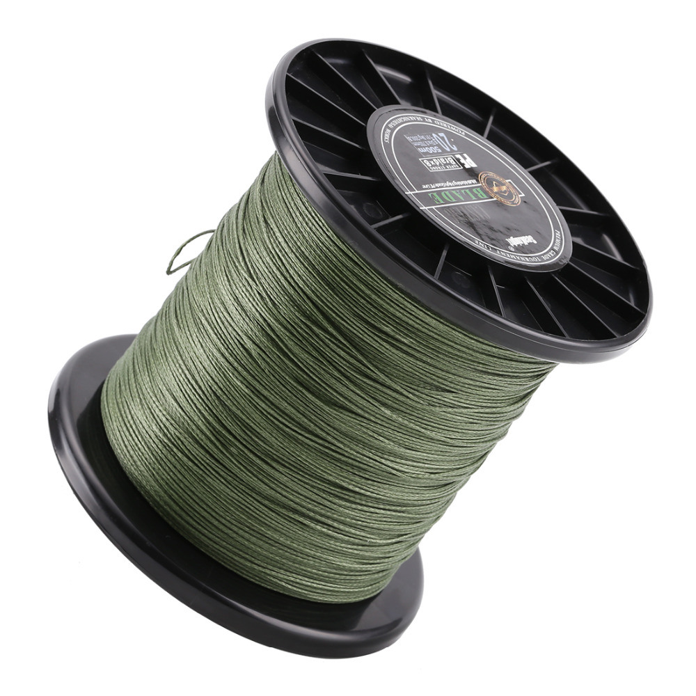 Big size Super Strong 500m 8 Weaves PE Braided Fishing Line 120LB-300LB 10# 15# 20# 25# 30#