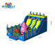 Guangzhou Cheap commercial outdoor amusement inflatable bouncer jumping castle with water slide for sale