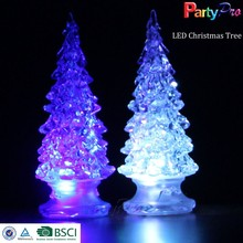 Promotional Wholesale LED Acrylic Christmas Tree