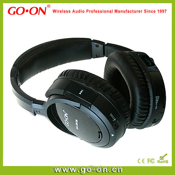 Bluetooth headphone with soft headband for comfortable wearing