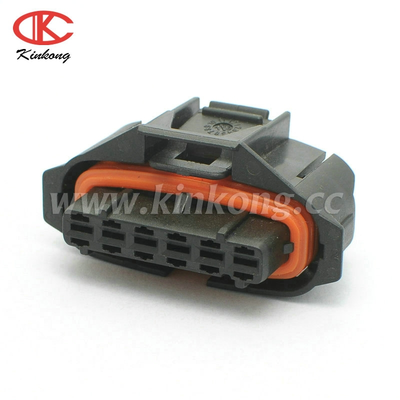 7 way black waterproof auto connector for Bosch 1928403222
