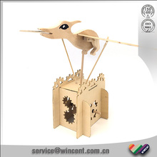Wings movable Pterosaur wooden Science working models toy