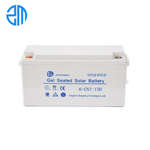 ZM competitive price valve regulated 12v 150ah lead acid battery