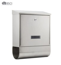 Waterproof Wall Mounted Stainless Steel Mailbox