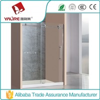 Hot Selling Frameless 10MM thickness Glass Sliding Shower Screen Cheap Price (YLL-1131)