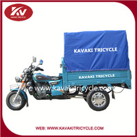 Guangzhou KAVAKI brand advanced three wheel cargo motorcycles for delivery goods hot sale in philippines