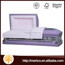 1865 18Ga metal coffin and pet casket from china casket manufacturers