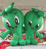 Cartoon mascot giant inflatable fruits inflatable vegetables