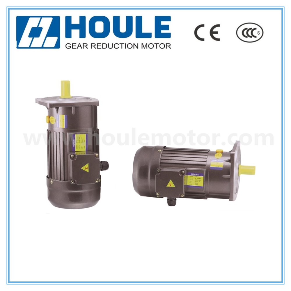 HOULE vertical motor 0.4kw AC medium gear reduction motor electric motor