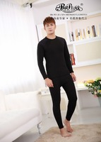 Peijiaxin Hight Quality Comfort Winter Heated Thick High Neck Mens Thermal Underwear