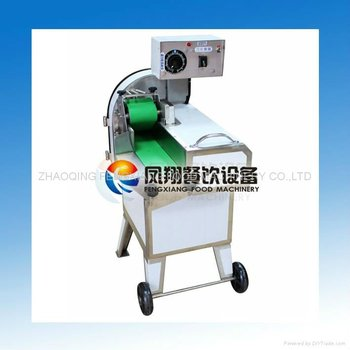 FC-304 Industrial Automatic Cooked Char Siew Pork Slicing Machine (SKYPE: selina84828)