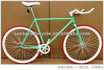 700C Fixed Gear Bike Indoor Racing Bike SL-RC26016 Road Bike