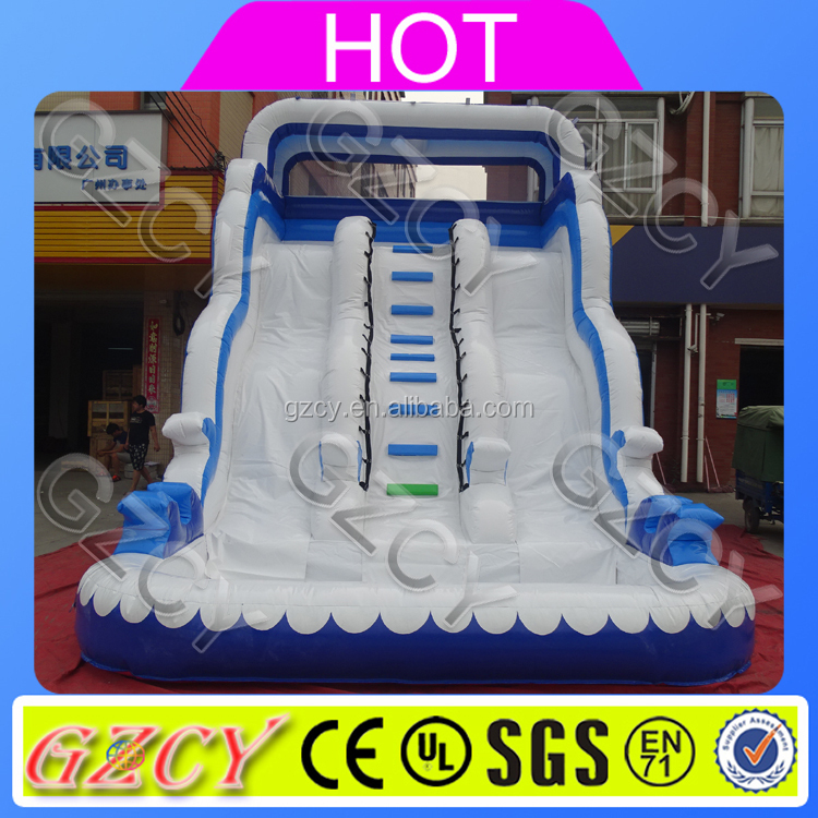 Used Playground Slide Inflatable Water Slide For Sale