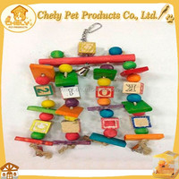 Customized Wooden Pet Toys For Birds Pet Toys