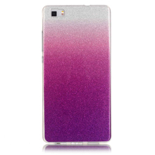 2017 New Arrival Color Gradient Phone Case,IMD Technology Case For Huawei P8 Lite