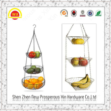 Wholesale 3 tier Hanging Fruit Basket from China